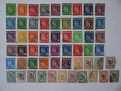 Finland  Used Stamps