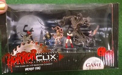 Horrorclix Joblot - Bnib Starter Set Plus Loose Miniatures And Extras