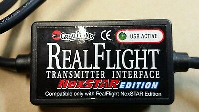 Great Planes Real Flight Nexstar Wired Transmitter Interface