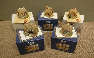 Collection of Lilliput Lane Cottages
