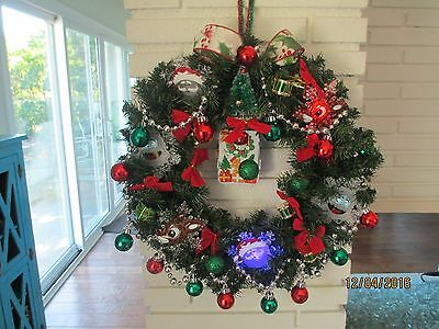 CHRISTMAS Children's Musical Wreath- HAND MADE