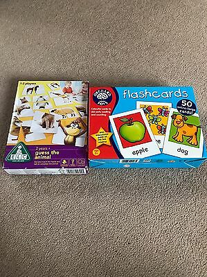 Orchard Flash Cards And ELC Guess The Animal Game