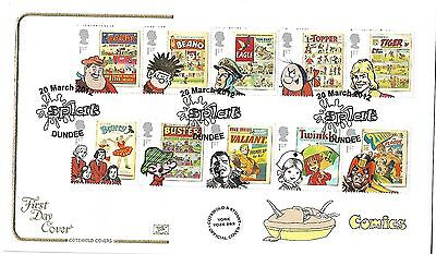 Gb 2012 Comics Cotswold Official Fdc