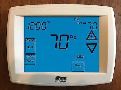 RUUD TST314UNMS Touchscreen Programmable Thermostat