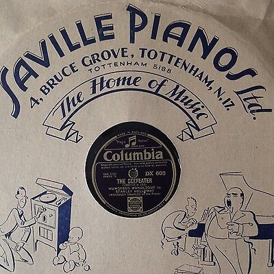 """STANLEY HOLLOWAY Humorous Monologue The Beefeater 12"""" 78 RPM Record"""