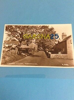 Stackpole Village Pembrokeshire Real Photo Card