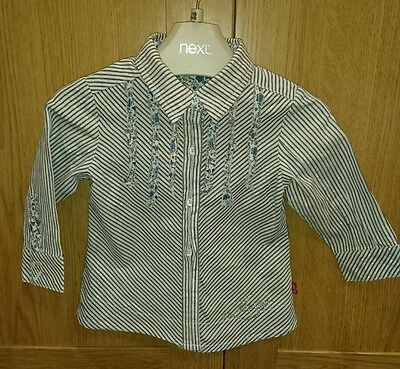 Girls stripped Levi shirt age 12 months