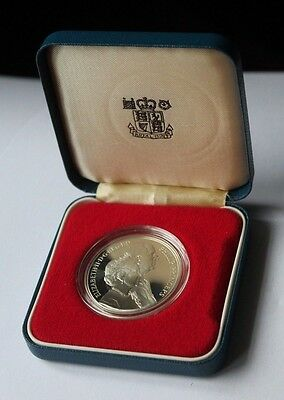 1947 - 1997 Silver Proof £5 Pounds Queen & Prince Philip Golden Wedding