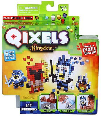 Qixels Theme Refill Pack - Ice Warriors 500 Cubes