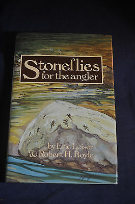 1982 *FIRST* Stoneflies for the Angler by Eric Leiser