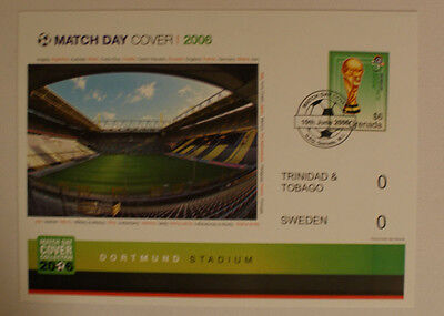 """World Cup 2006 Match Day Cover """"Trinidad and Tobago"""""""