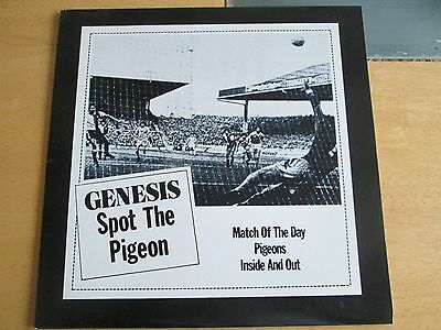 """Genesis 12"""" vinyl single -Spot the pigeon / match of the day. Canadian import."""