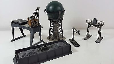 Large selection of Continental Buildings HO Scale; Crane, Coal Staithes etc