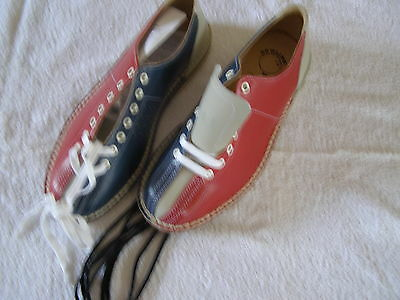Bowling Shoes Size 8 Excellent Leather Quality