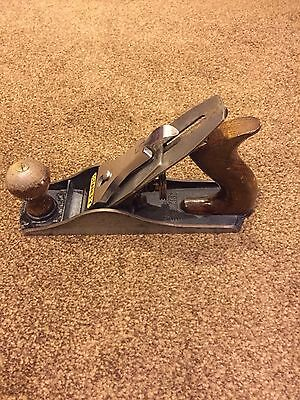 Vintage Stanley bailey wood plane