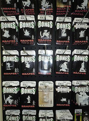 Reaper Bones Miniatures Dungeon Master Lot of 10 packs  (Monsters Only)