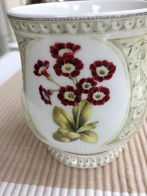 Auricula Cup By Queen's. Fine Bone China