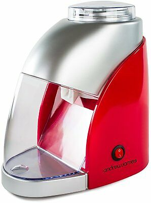Andrew James Electric Ice Crusher in Red & Silver, 55W, 600ML capacity VGC