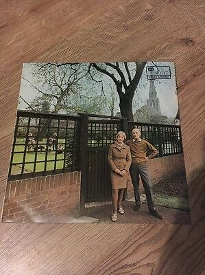 Fairport Convention Unhalfbricking Lp Record Pink Label A1/ B1