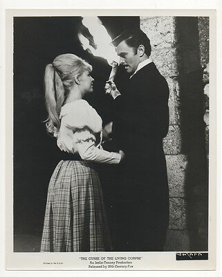 Vintage 1964 THE CURSE OF THE LIVING CORPSE Original 8x10