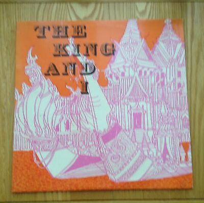Vinyl LP The  King And I World Record Club