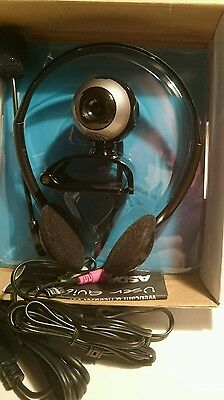 ASDA  1.3MP Webcam with Microphone and Headset (USB2.0)