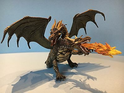 Warhammer D&D / Fantasy wargames two headed DRAGON painted & ready to game with