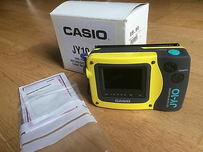 Casio JY10 LCD TV. Unused, boxed with instructions.