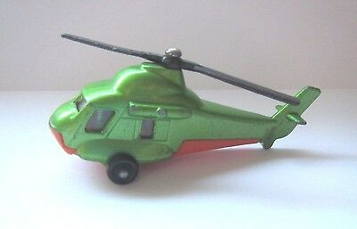 VINTAGE OLD DIECAST MATCHBOX HELICOPTER SEASPRITE No75 MADE IN BULGARIA 1976