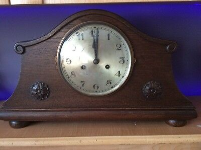 Large Vintage Mantle Clock