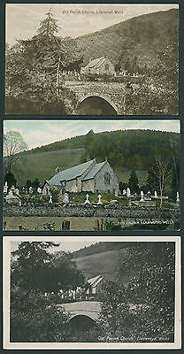 Old Parish Church at Llanwrtyd Wells. West of Builth, BRECONSHIRE - POWYS.