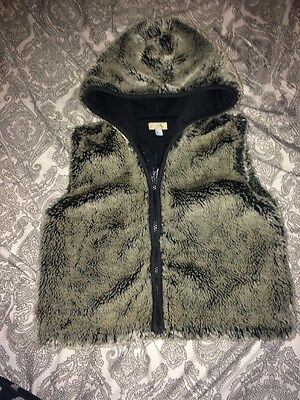 Girls Monsoon Faux Fur Gillette Age 4-6 Years With Hood