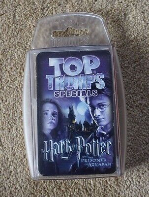 Harry Potter and the Prisoner of Azkaban Top Trump Specials Cards + Case Trumps
