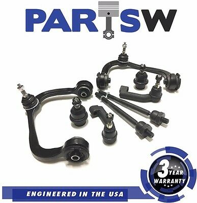 8 Pc New Suspension Kit for Ford F-150 2009 - 2014 Control Arms and Ball Joints