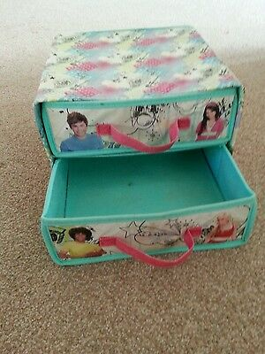 High school musical 2 flat pack draw organiser boxes
