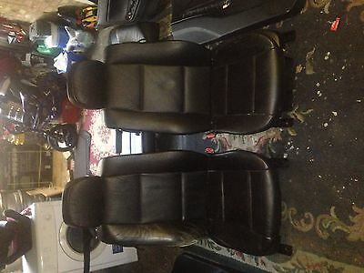 BMW 3 Series Coupe E46 Interior Black Leather Electric Memory seats