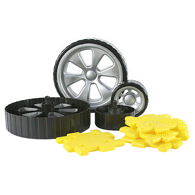 Giant Polydron™ Add-On Wheels Set  8 Pieces
