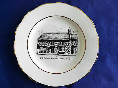 Very rare 20 cm 8 in plate designed for the original Bakewell pudding shop