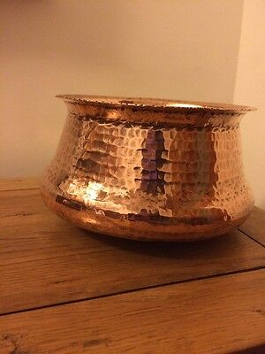 Hand Hammered Copper Planter Arts And Crafts Jardiniere