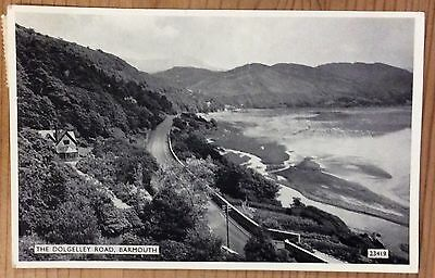 Vintage Postcard - The Dolgelley Road, Barmouth