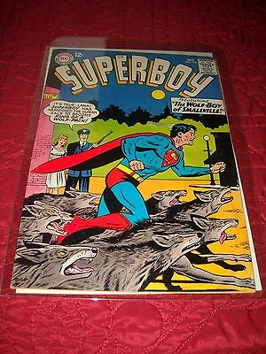 Superboy # 116 Tough 4.5 Vg+ Silver Age 1964 The Wolf Boy Of Smallville