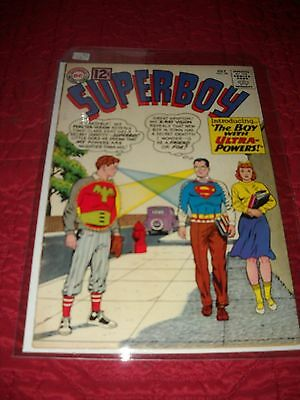 Superboy # 98 Tough 6.0 Fine Silver Age 1962 1St Appearance Boy With Ultra Power