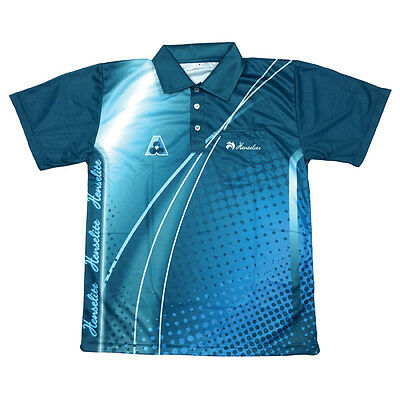 Lawn Bowls Mens Polo Shirt - Henselite - Ba Logo Inserted - Only $70