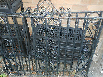 2 Heavy Iron Drive Gates Top Quality Require Painting