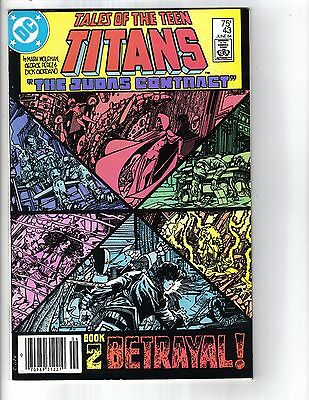 Tales of the Teen Titans #43 (Jun 1984, DC) The Judas Contract Part 2