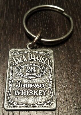 Jack Daniel's Old No. 7 Tennessee Whiskey Metal Keychain - Original New