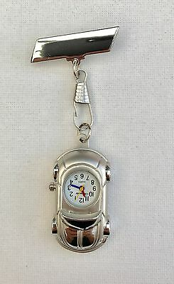 Car Nurses Beautician Fob Watch Brooch Pin Medical