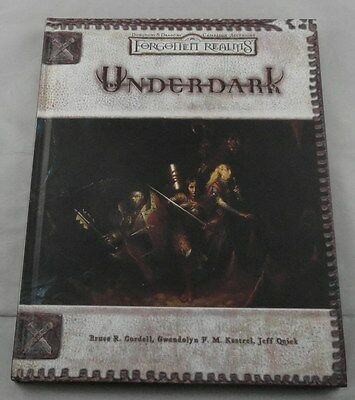 Dungeons & Dragons 3rd  Forgotten Realms Underdark Campaign Setting WTC88581