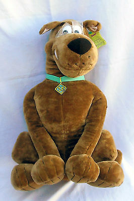 "SCOOBY DOO Plush Toy 27"" Tall GIANT STUFFED ANIMAL/HANNA BARBERA/CARTOON NETWORK"