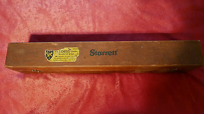Starrett Machinist Level No. 98 -18 with Wooden Box